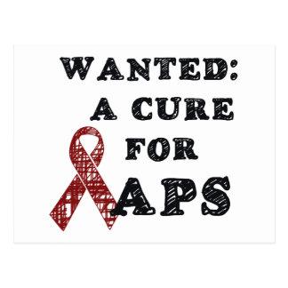 APS Awareness Items Postcard