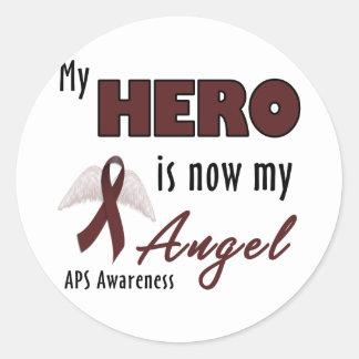 APS Awareness Items Round Stickers