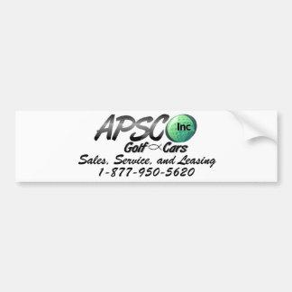 APSCO, Inc Pegatina Para Auto