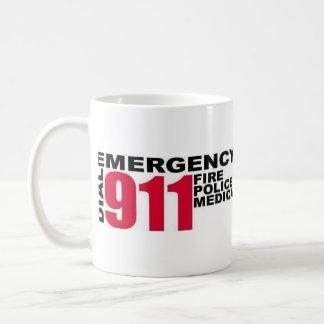 APSD and Dial 9-1-1 logos Coffee Mug