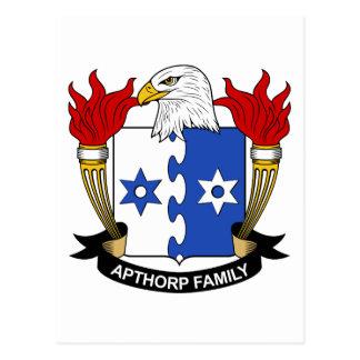 Apthorp Family Crest Postcard