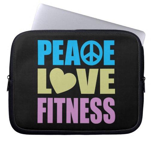 Aptitud del amor de la paz mangas computadora