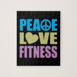 Aptitud del amor de la paz rompecabeza