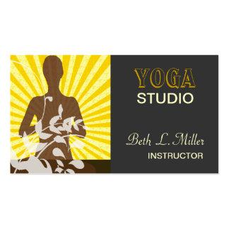 Aptitud del personalizado de Pilates de la yoga de Tarjetas De Visita