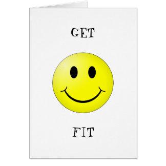 aptitud feliz tarjeta de felicitación