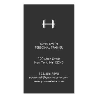 Aptitud moderna/tarjeta de visita personal del ins