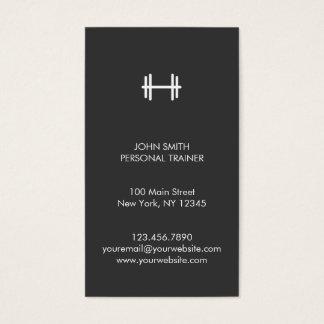 Aptitud moderna/tarjeta de visita personal del tarjetas de visita