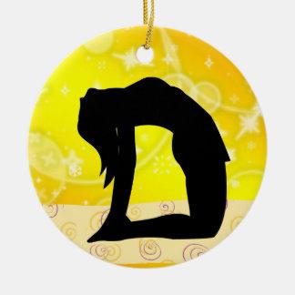 ¡Aptitud! Yoga - SRF Adorno Redondo De Cerámica