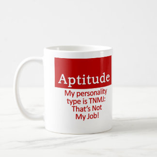 Aptitude Coffee Mug