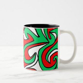 Aptitude Jovial Super Inventive Two-Tone Coffee Mug