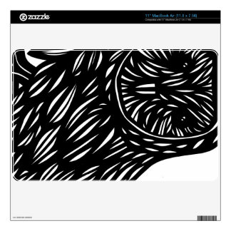 """Aptitude Lively Positive Affluent Decal For 11"""" MacBook Air"""