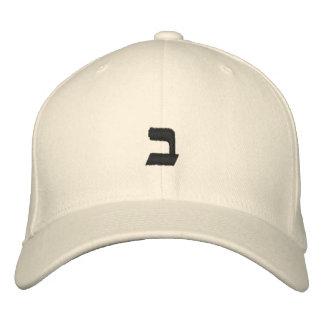Apuesta - alfabeto hebreo adaptable gorra de beisbol bordada