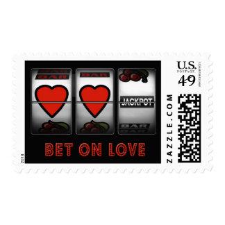 Apuesta en amor sellos postales