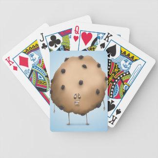 Apueste que usted muerde un microprocesador barajas de cartas