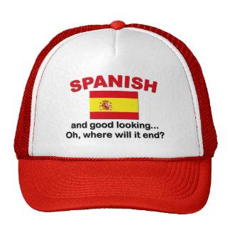 Apuesto y español gorros