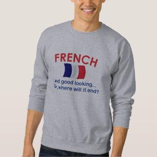 Apuesto y francés sudadera