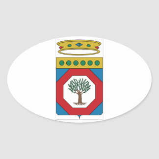 Apulia Coat of Arms (Italy) Oval Sticker