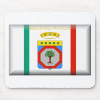 Apulia Italy Flag Mousepads