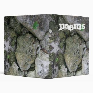 """Apuntale las rocas, dentadas, con el pequeño carpeta 1"""""""