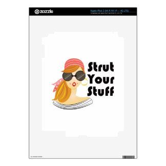 Apuntale su materia iPad 3 skins