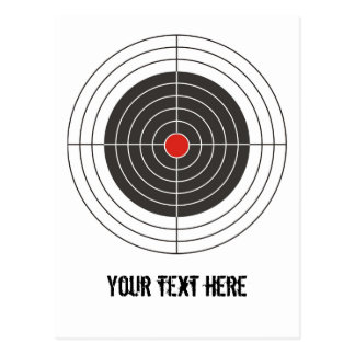 Apunte el tiroteo para la pistola del arma, del postales