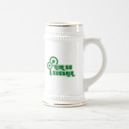 Apunte sostener taza