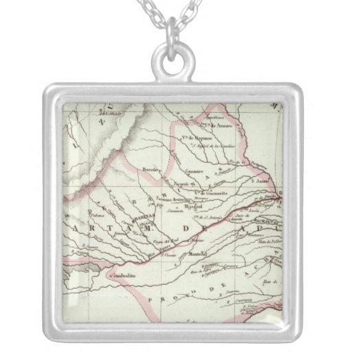 Apure Square Pendant Necklace