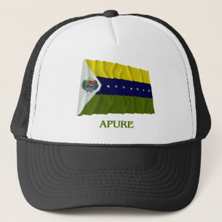 Apure Waving Flag with Name Trucker Hat