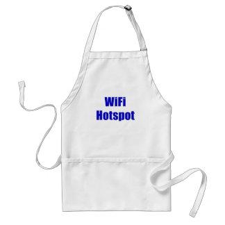 Apuroses de WiFi Delantal