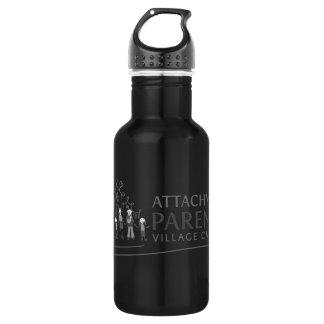 APVC Waterbottle - black 18oz Water Bottle