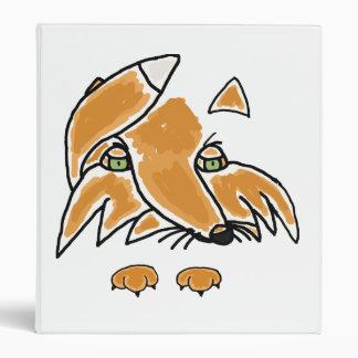 AQ- Awesome Artsy Fox cartoon Binder