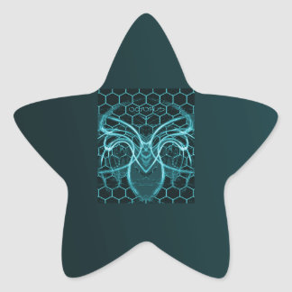 AQABSRTOCTPS STAR STICKER
