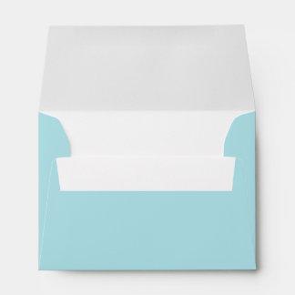 Aqua A6 Envelopes