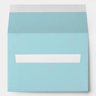 Aqua A7 Envelopes