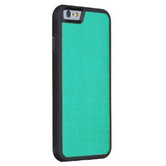 Aqua Alliance Carved® Maple iPhone 6 Bumper Case