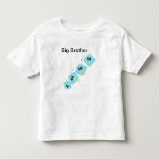 Aqua Baby Bird Big Brother Toddler T-shirt