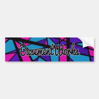 Aqua BasementWorks Sticker by BW