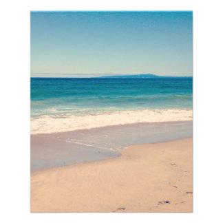 Aqua Beach Scene Flyer