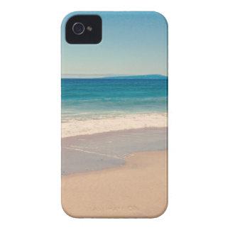 Aqua Beach Scene iPhone 4 Cover