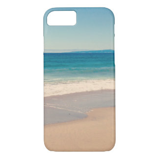 Aqua Beach Scene iPhone 7 Case