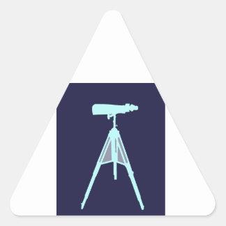 Aqua Binoculars - Navy blue. Triangle Sticker