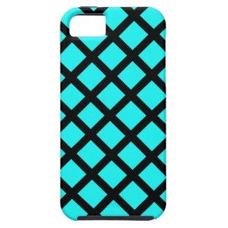 Aqua black pattern