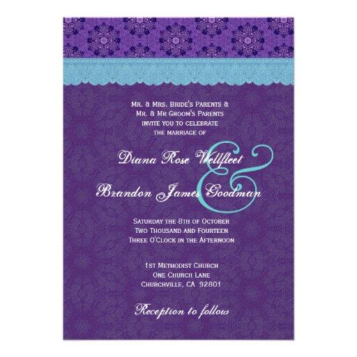 Purple And Blue Weding Invitations 021 - Purple And Blue Weding Invitations