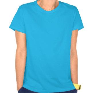 Aqua Blue and White Aquarius Symbol Shirt