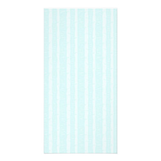 Aqua Blue Birch Bark Trees Subtle Texture Card
