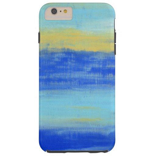 aqua blue chic urban art iphone 6 6s plus case zazzle. Black Bedroom Furniture Sets. Home Design Ideas