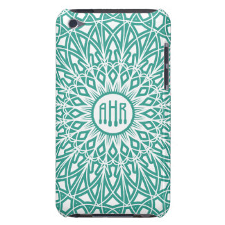 Aqua Blue Crocheted Lace iPod Touch Case