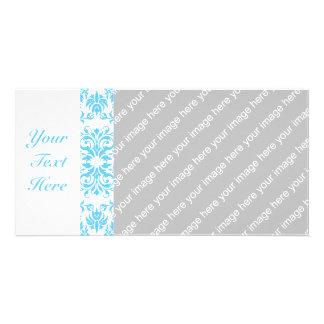 Aqua Blue + Custom Color Card