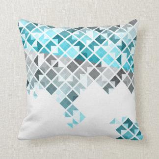 Blue And Aqua Throw Pillows : Aqua Blue Pillows - Decorative & Throw Pillows Zazzle