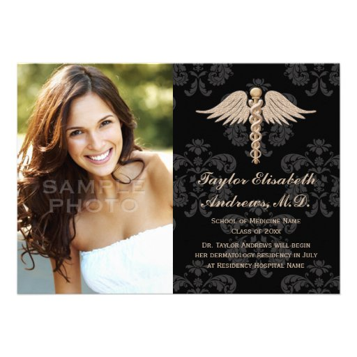 Medical School Graduation Invitations and get inspiration to create nice invitation ideas